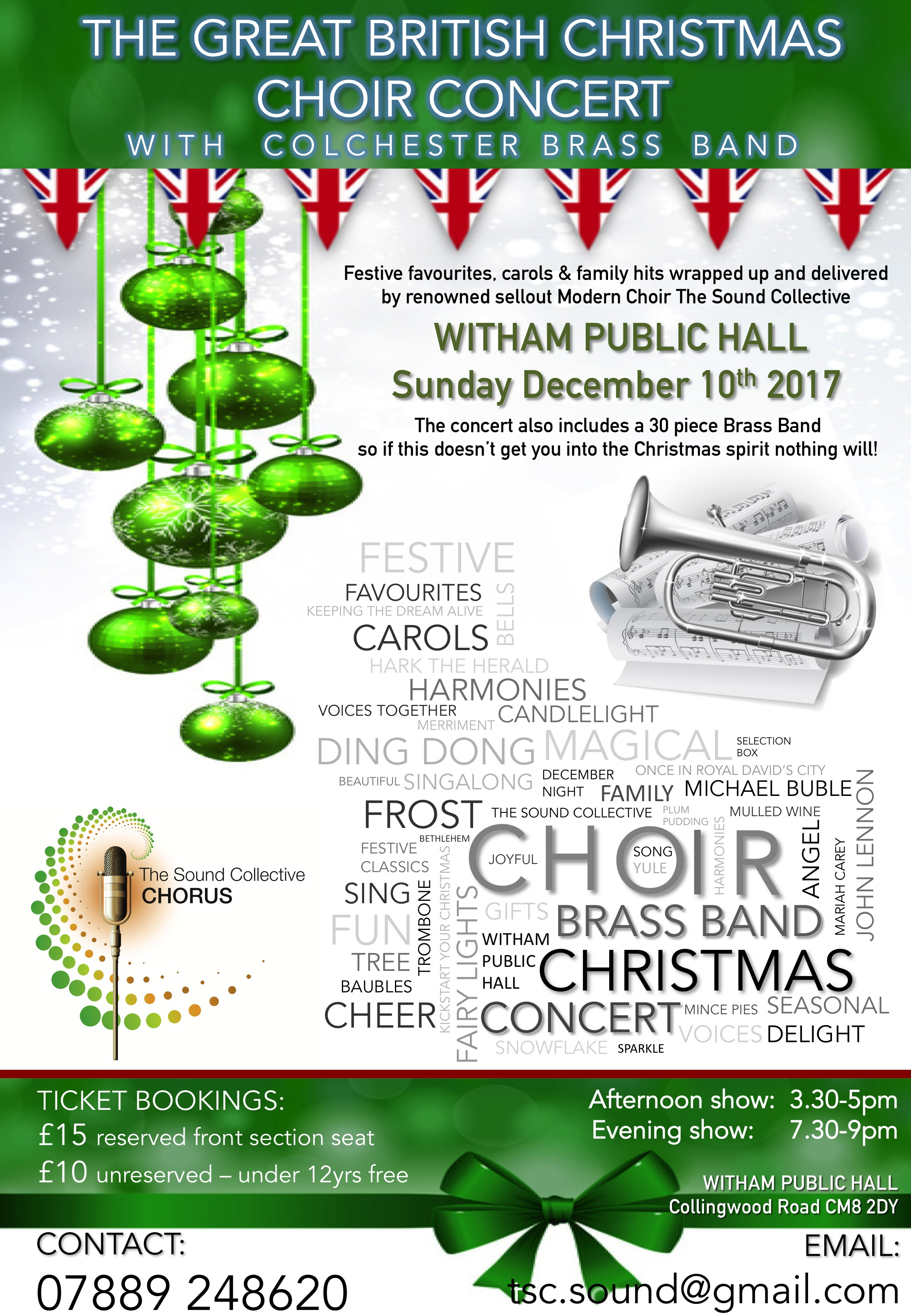 The Sound Collective Chorus Presents - A Great British Christmas Choir Concert