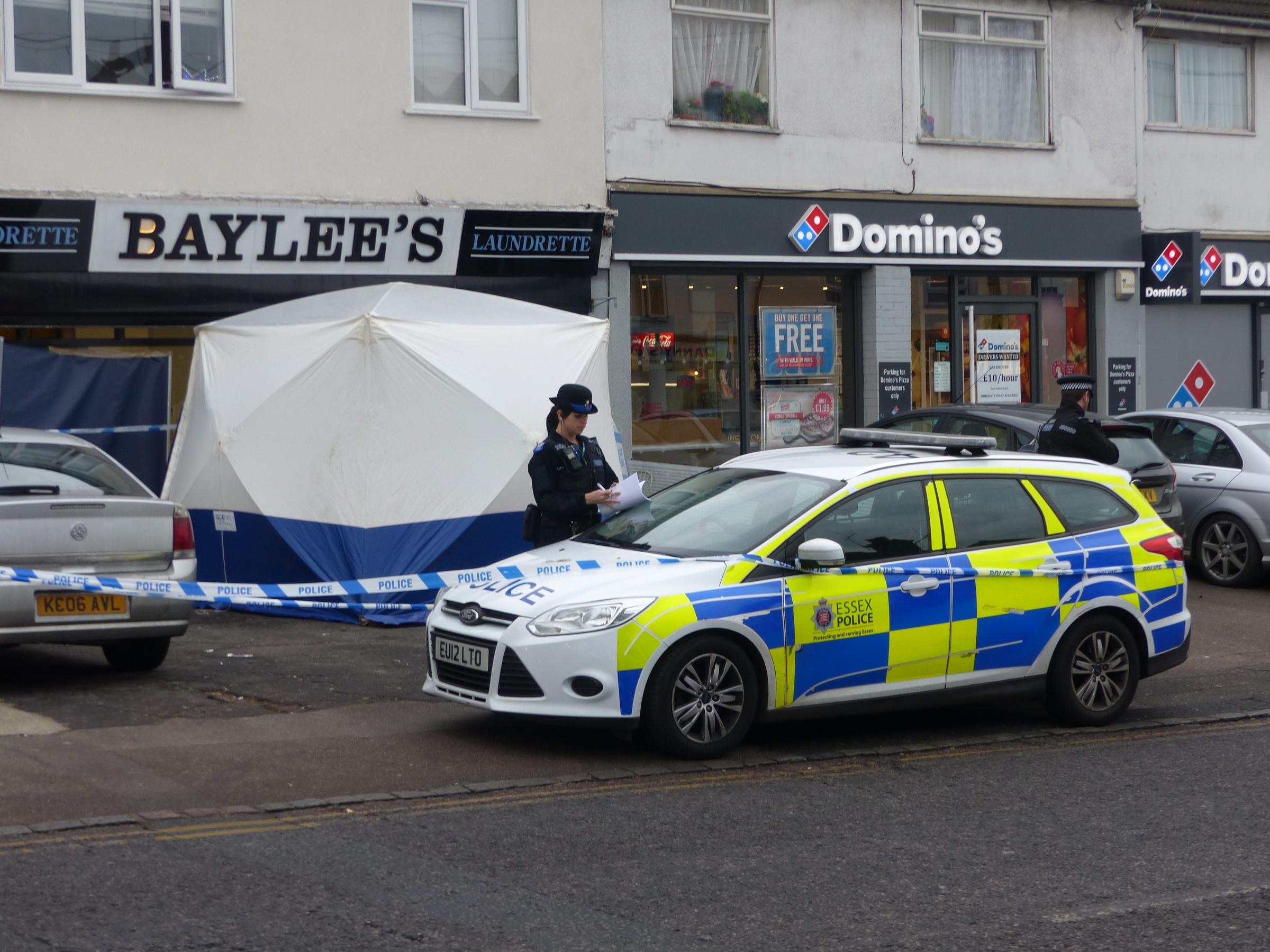 Man arrested for aggravated burglary during murder probe at Grays laundrette