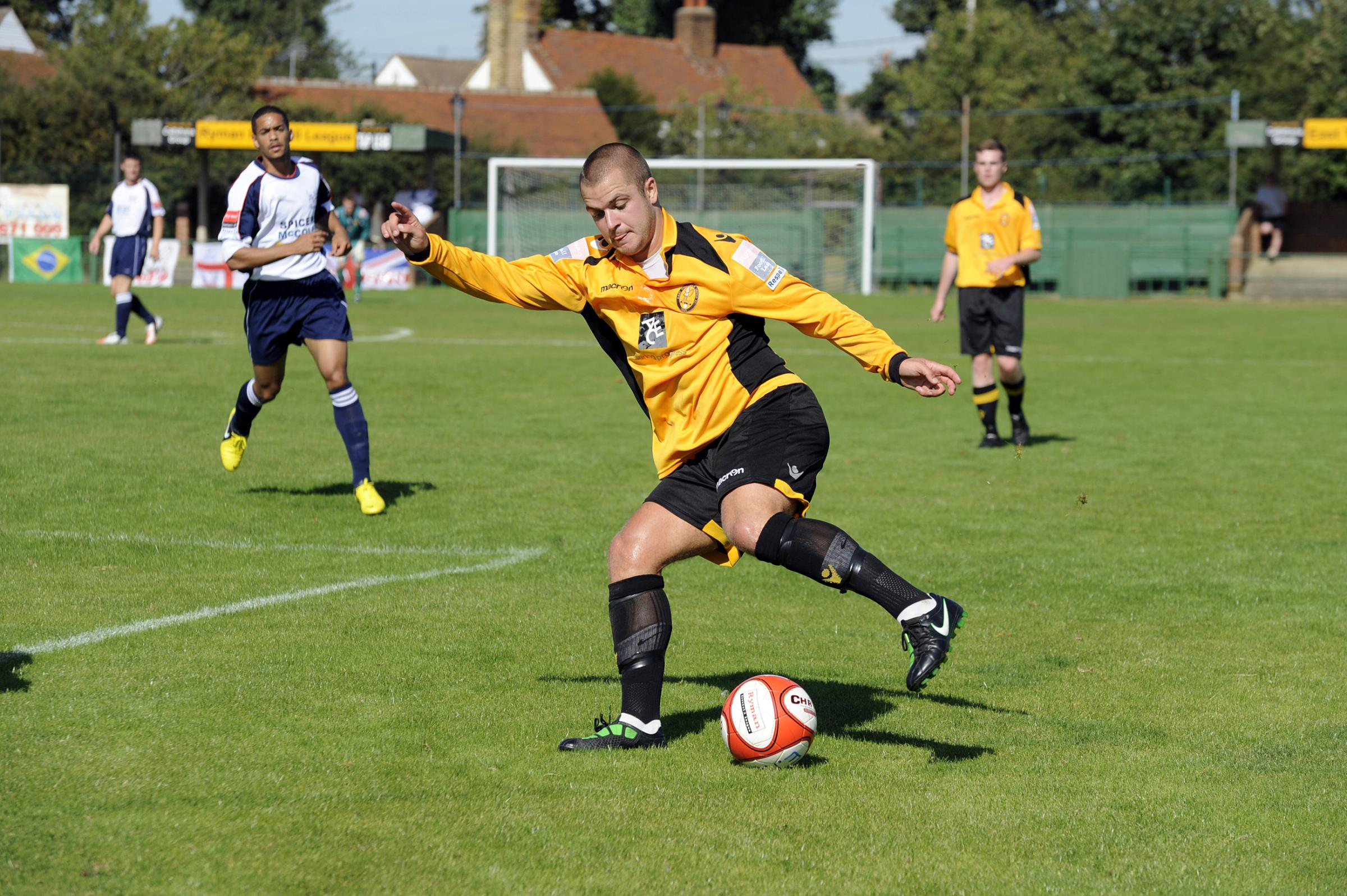 Back in the days - Sam Collins playing for East Thurrock United