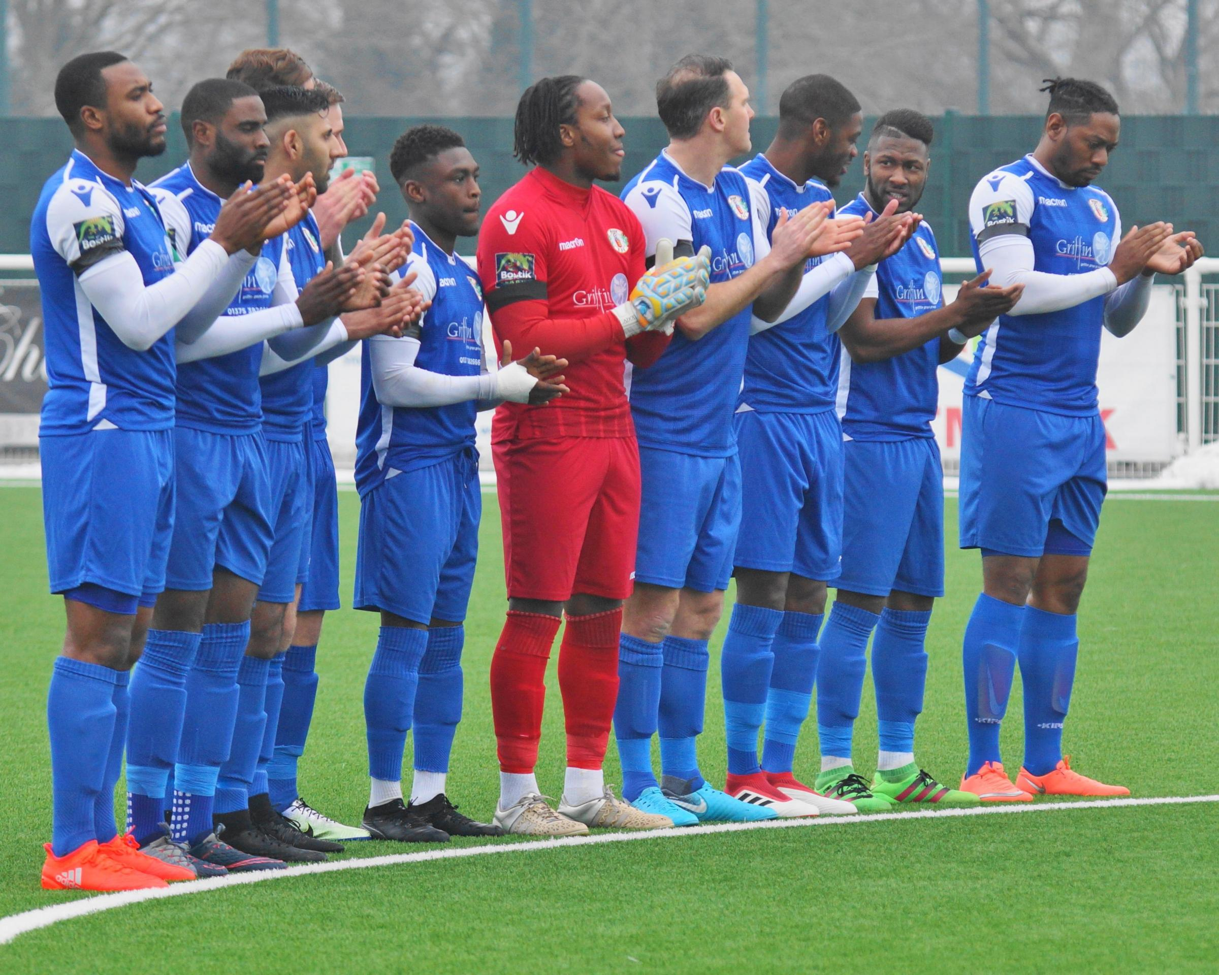 Talented squad - Grays Athletic      Picture: PETER JACKSON