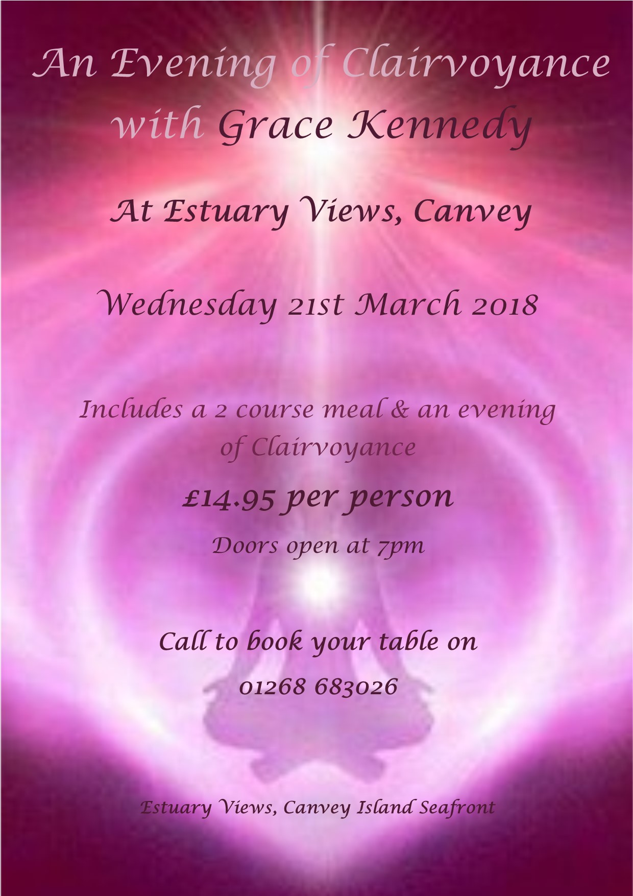 An Evening of Clairvoyance with Grace Kennedy