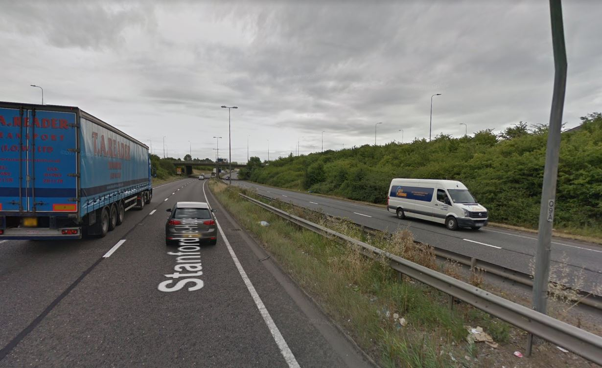 A13 closed due to concerns for woman's welfare