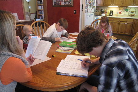 Home-schooling has doubled in five years