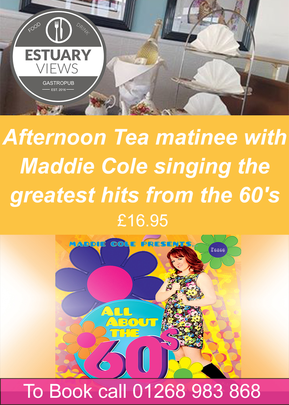 Afternoon Tea Matinee with Maddie Cole