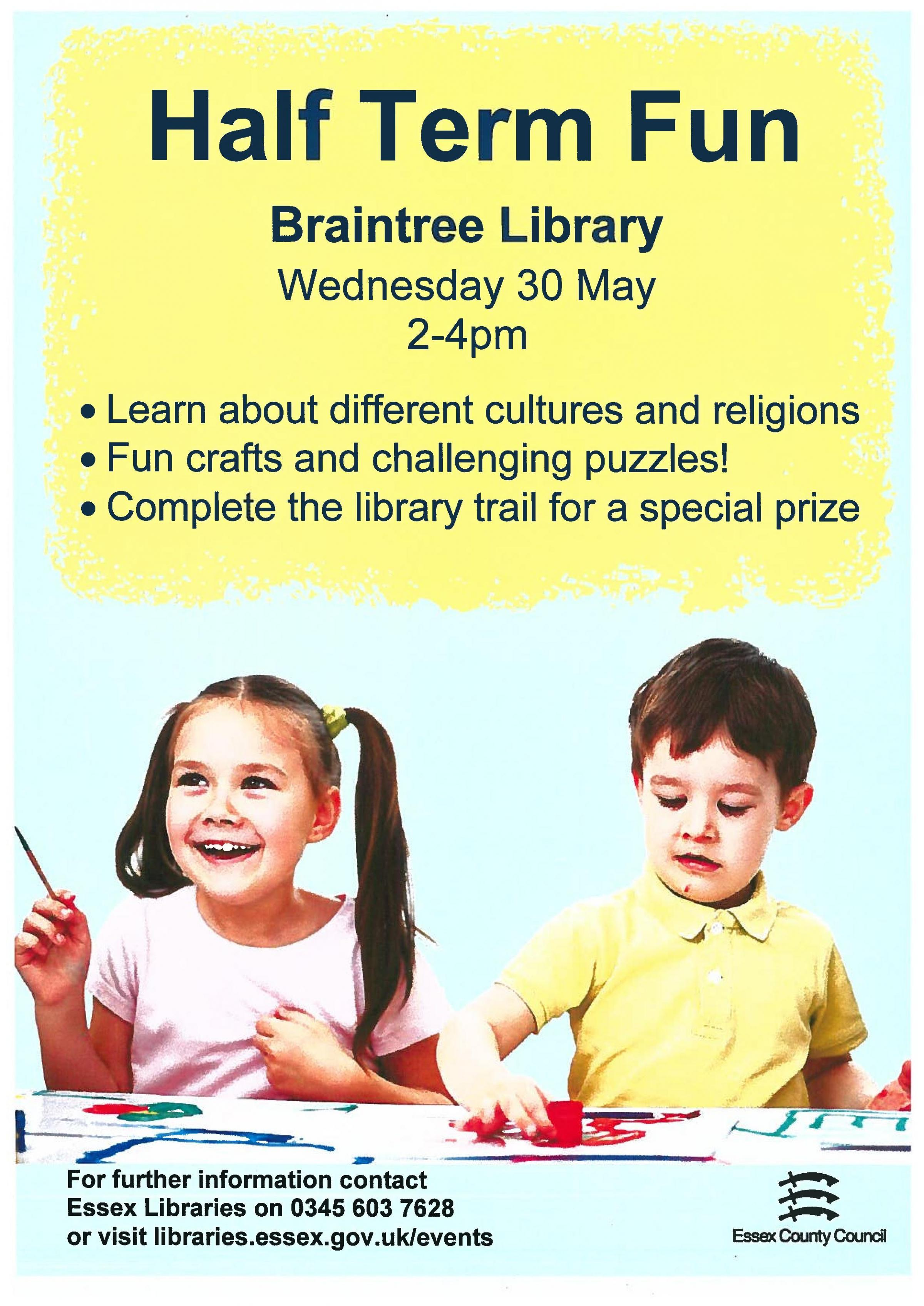 Half Term Fun at Braintree Library