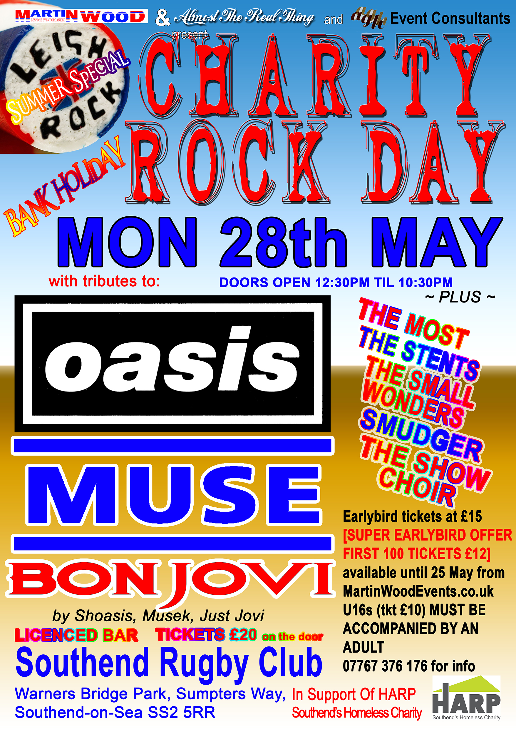 Charity Rock Day
