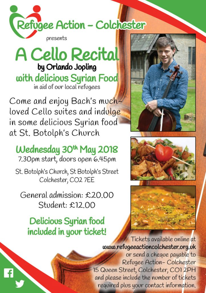 Fundraising Cello Concert