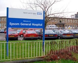 Epsom and St Helier Hospital Trust is one of seven in London which still has mixed wards