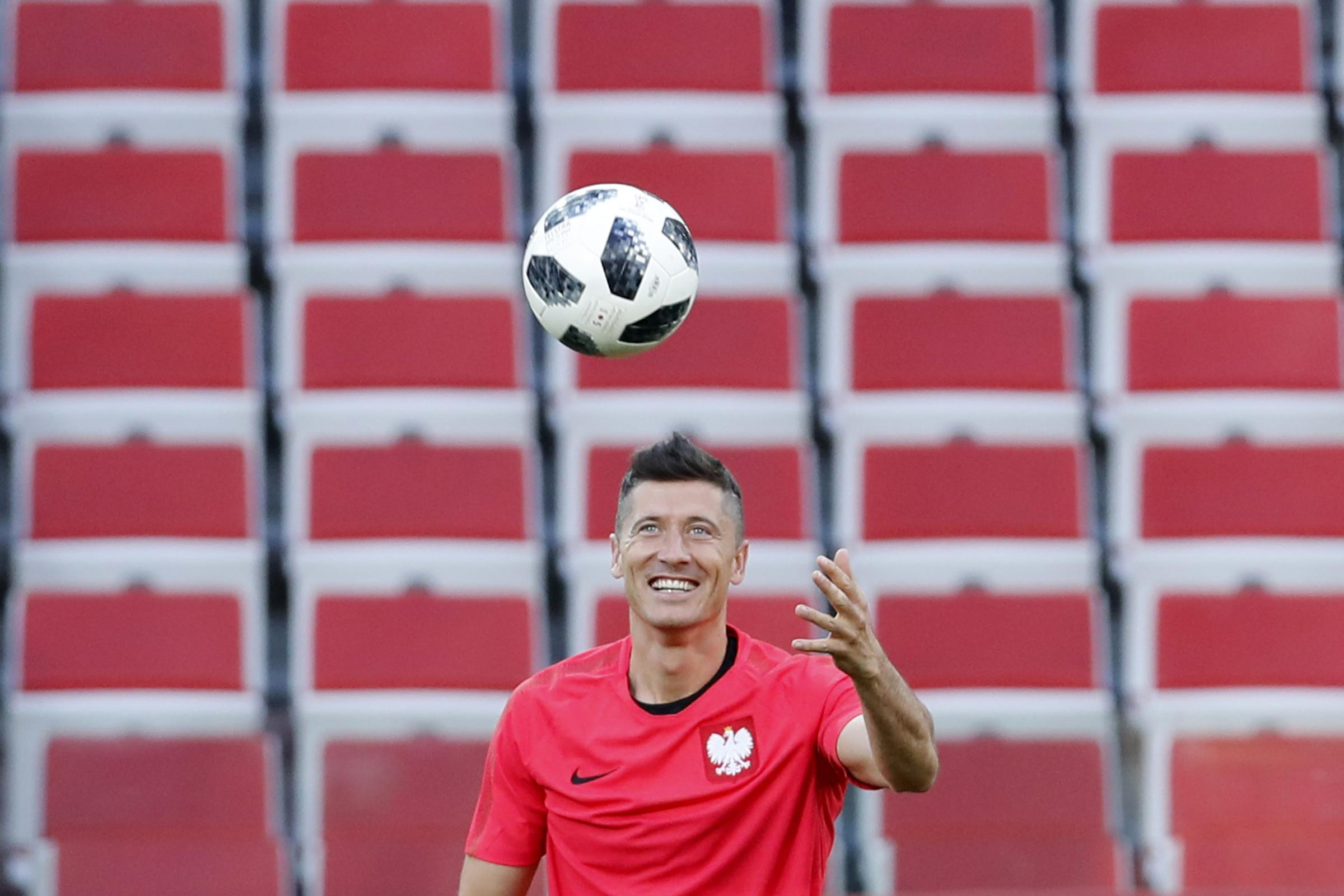 Robert Lewandowski is the big threat for Poland