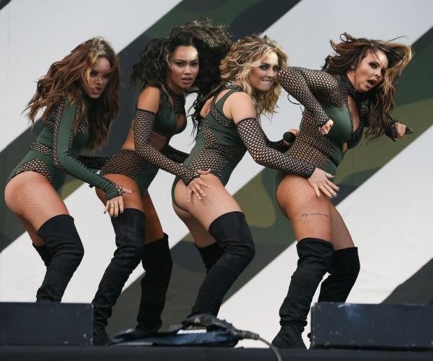 Thurrock Gazette: Big name - Little Mix at the V Festival