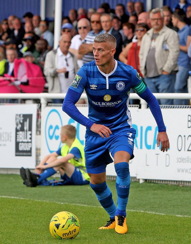 Rocks move - Paul Konchesky Picture: NICKY HAYES
