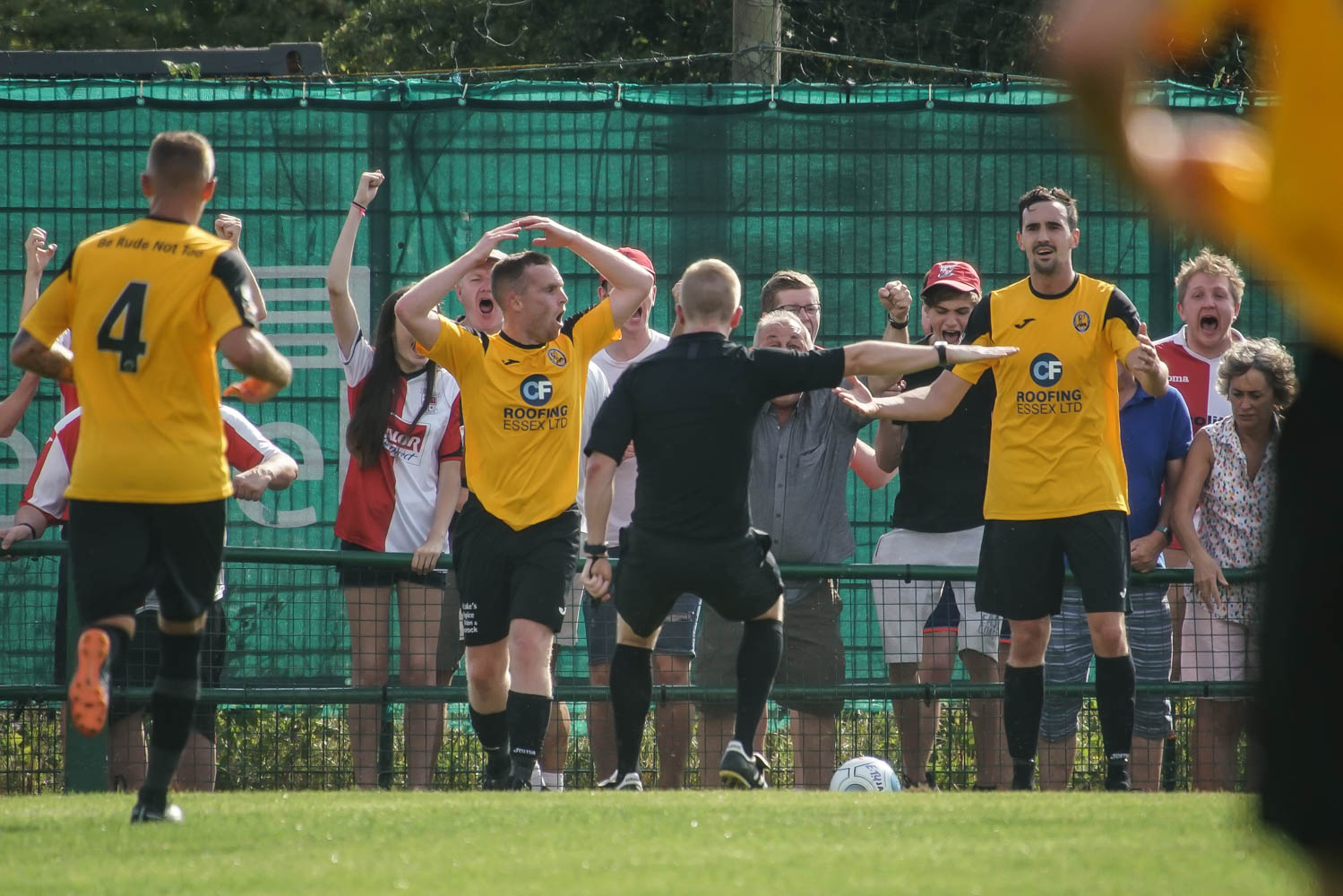 Disbelief - for East Thurrock on Saturday Picture: MIKEY CARTWRIGHT