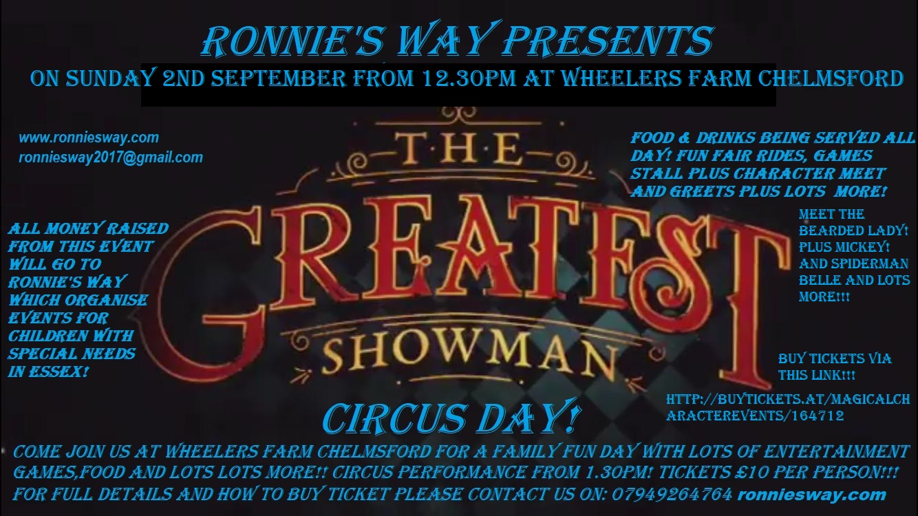 greatest showman circus day