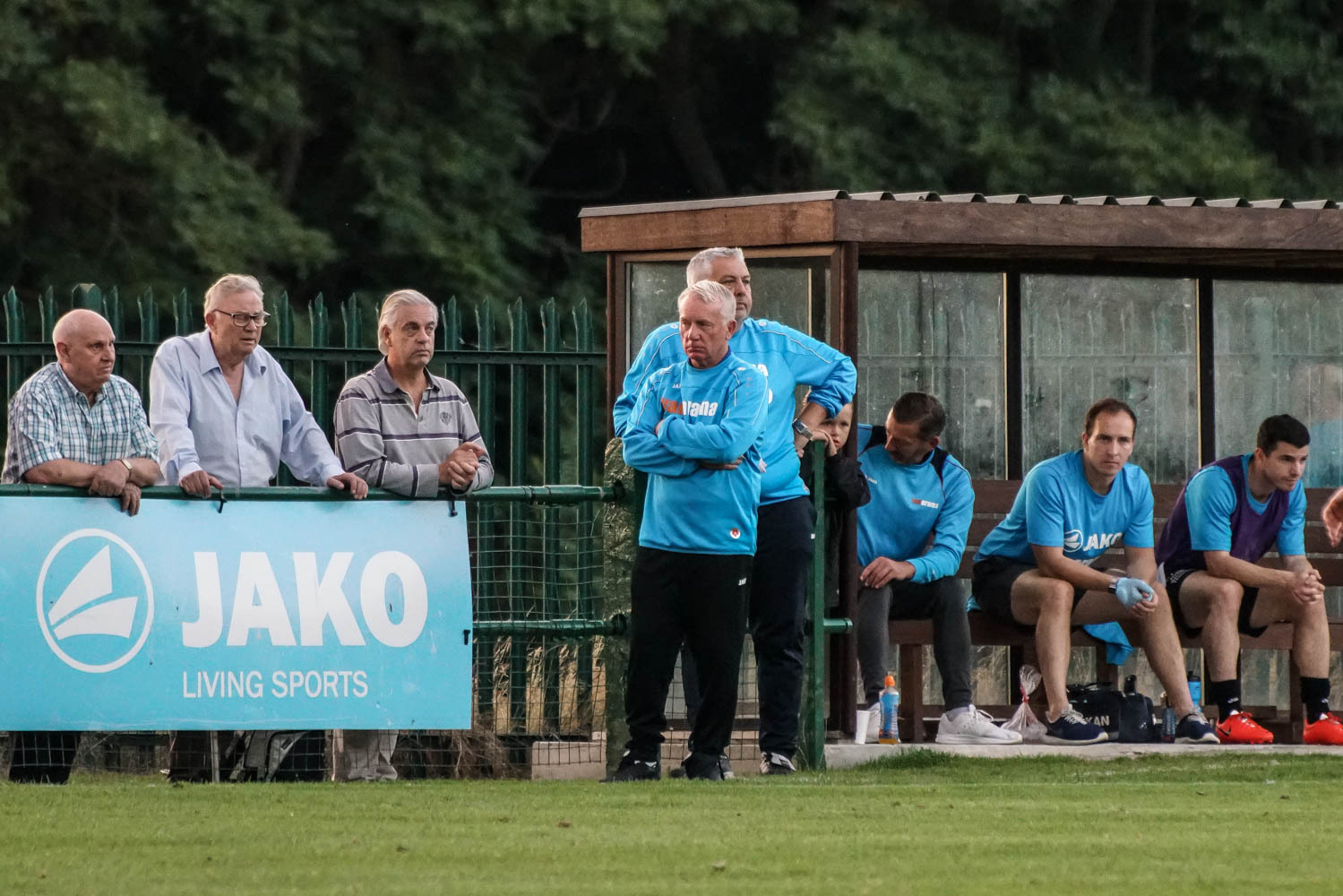 Hard times - for East Thurrock manager John Coventry