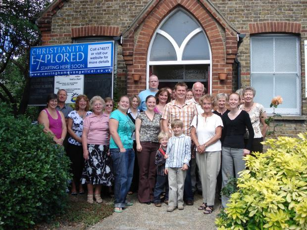Members of Corringham Evangelical Church