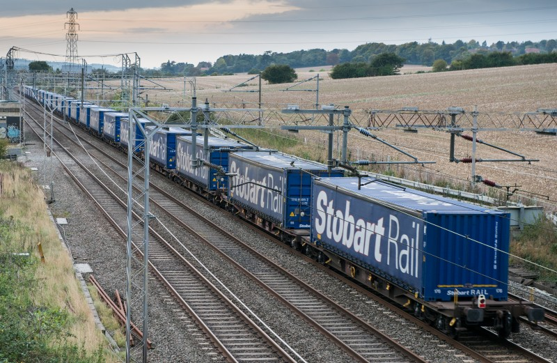 Eddie Stobart launches new train service connecting Port of Tilbury to Scotland