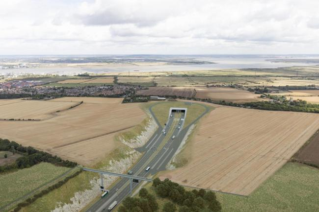 Lower Thames Crossing - New CGI