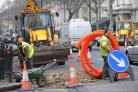 Roadworks (stock image)
