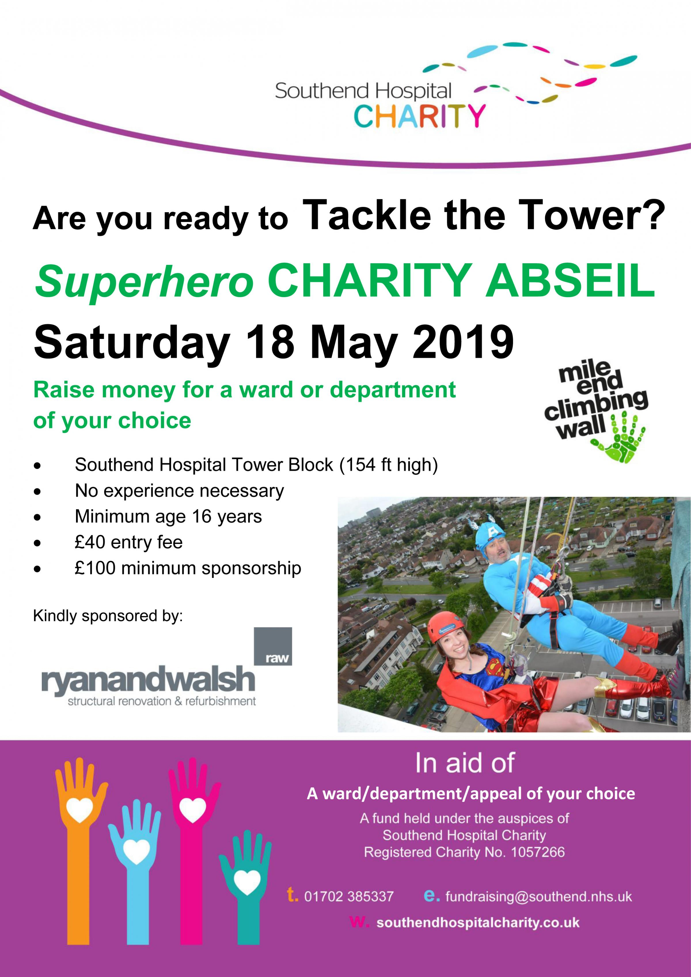 Southend Hospital Charity Abseil