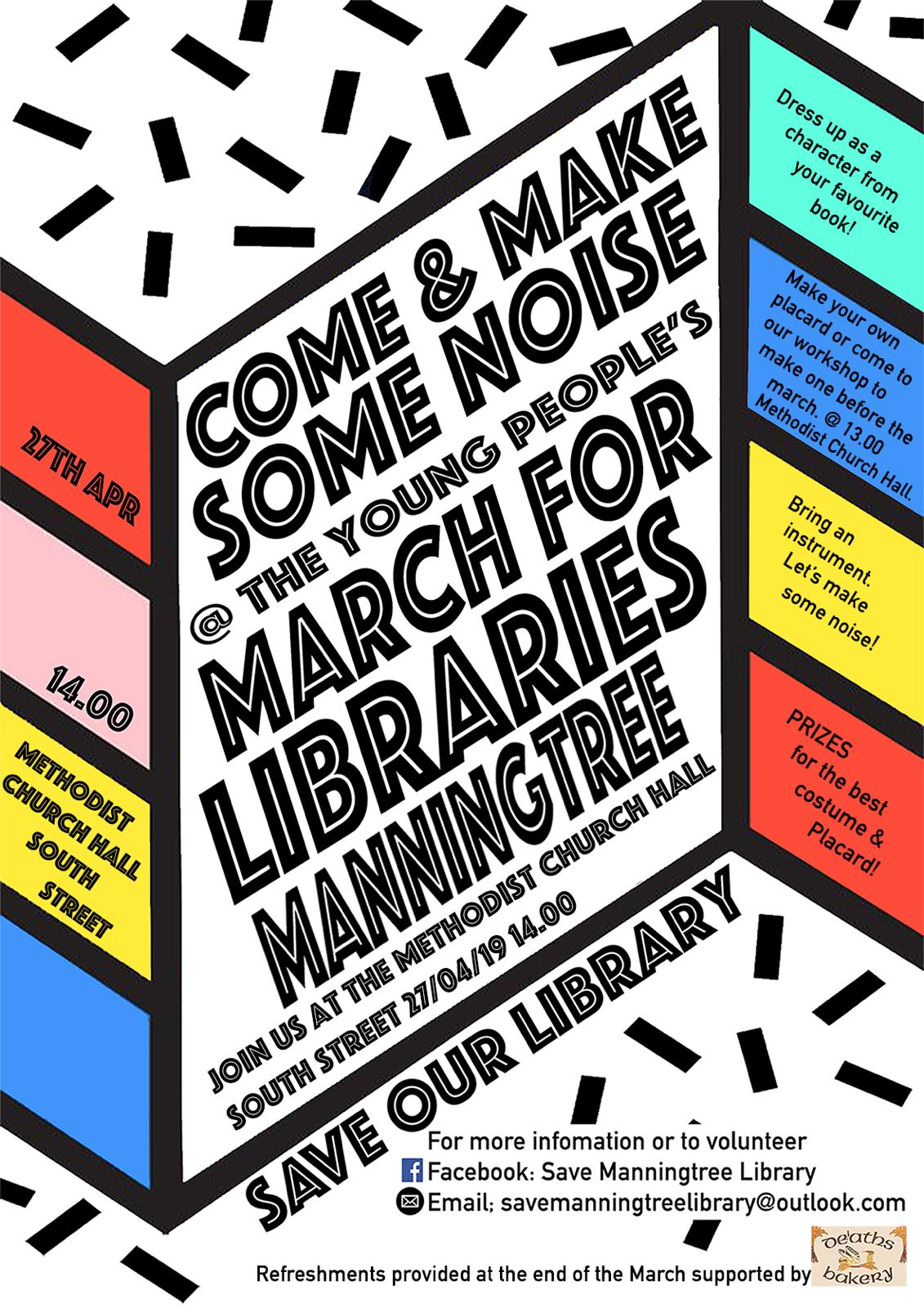 Young Peoples March for the Libraries
