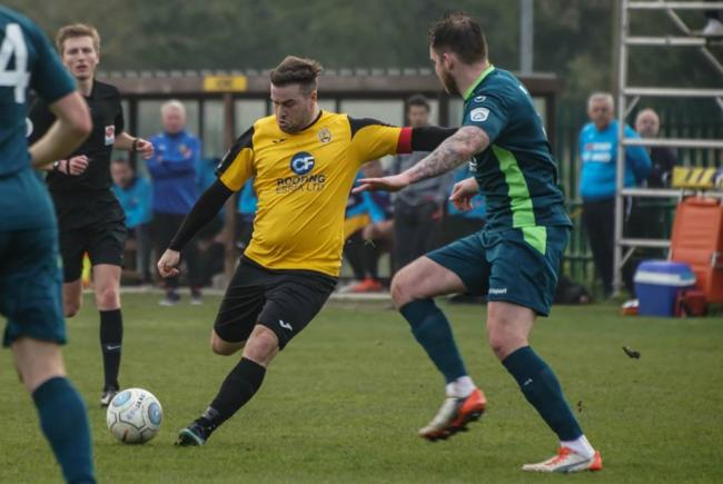 Claimed a brace - Sam Higgins' goals proved decisive           Picture: MIKEY CARTWRIGHT