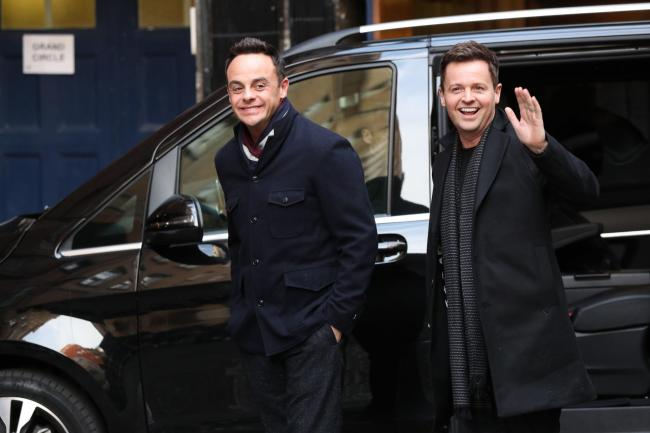 ANT'S BACK: Anthony McPartlin and Declan Donnelly. Picture: JONATHAN BRADY/PA WIRE