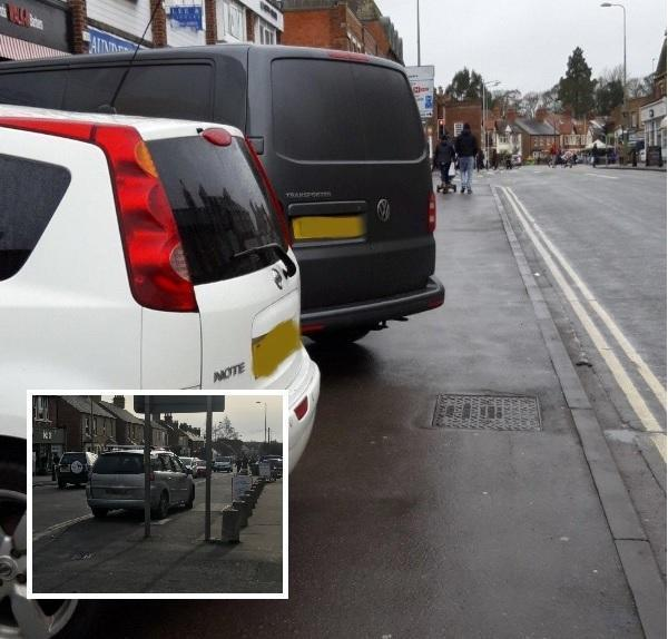 Parking pavement could be banned