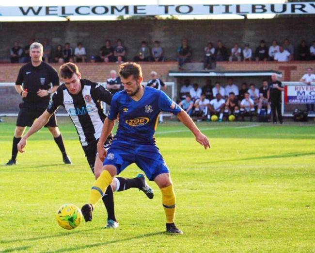 Joining forces - Tilbury and Hashtag United Picture: MILLY MERCER