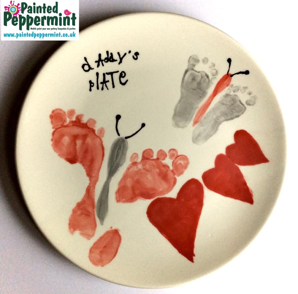 Painted Peppermint – Father's Day Pottery