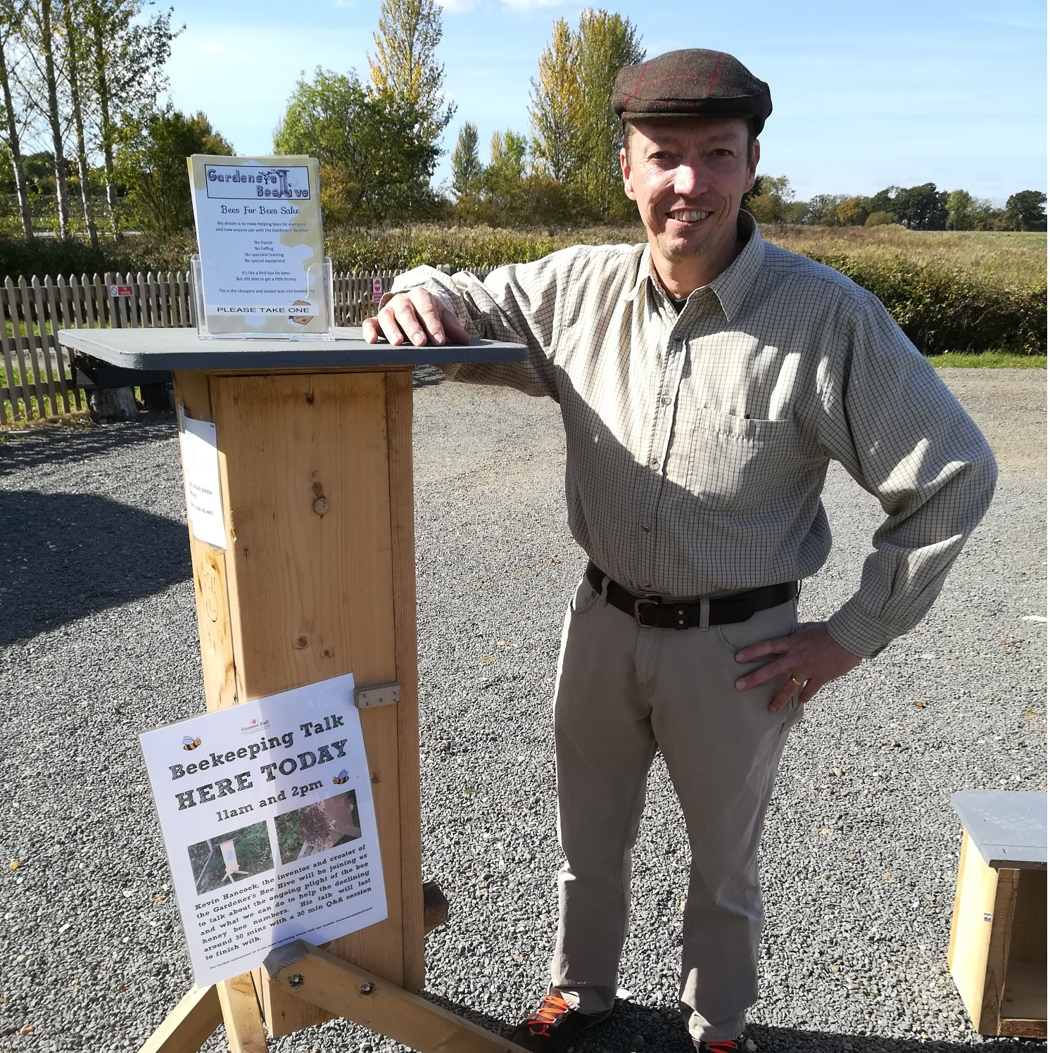 Beekeeping Talk by Kevin Hancock