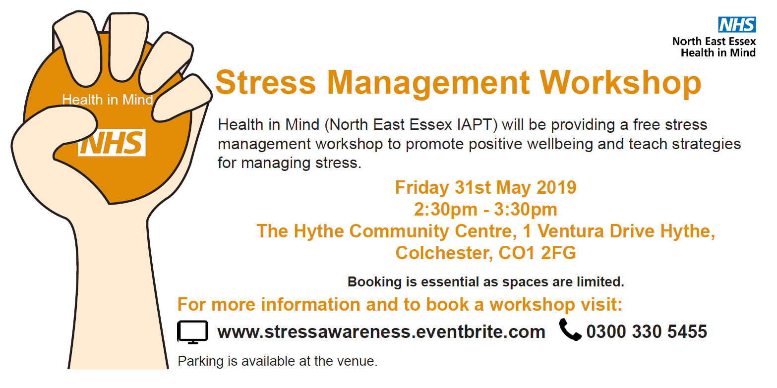 Free Stress Management Workshop