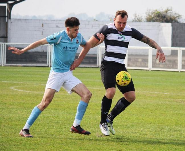 Joined Aveley - Darren Phillips has made the move from Tilbury Picture: MILLY MERCER