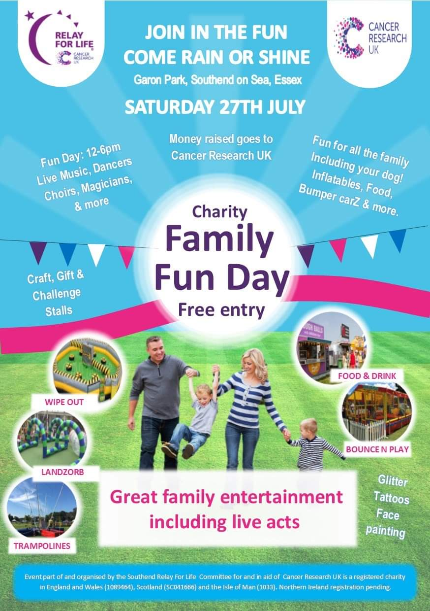 Southend Relay For Life Family Fun Day